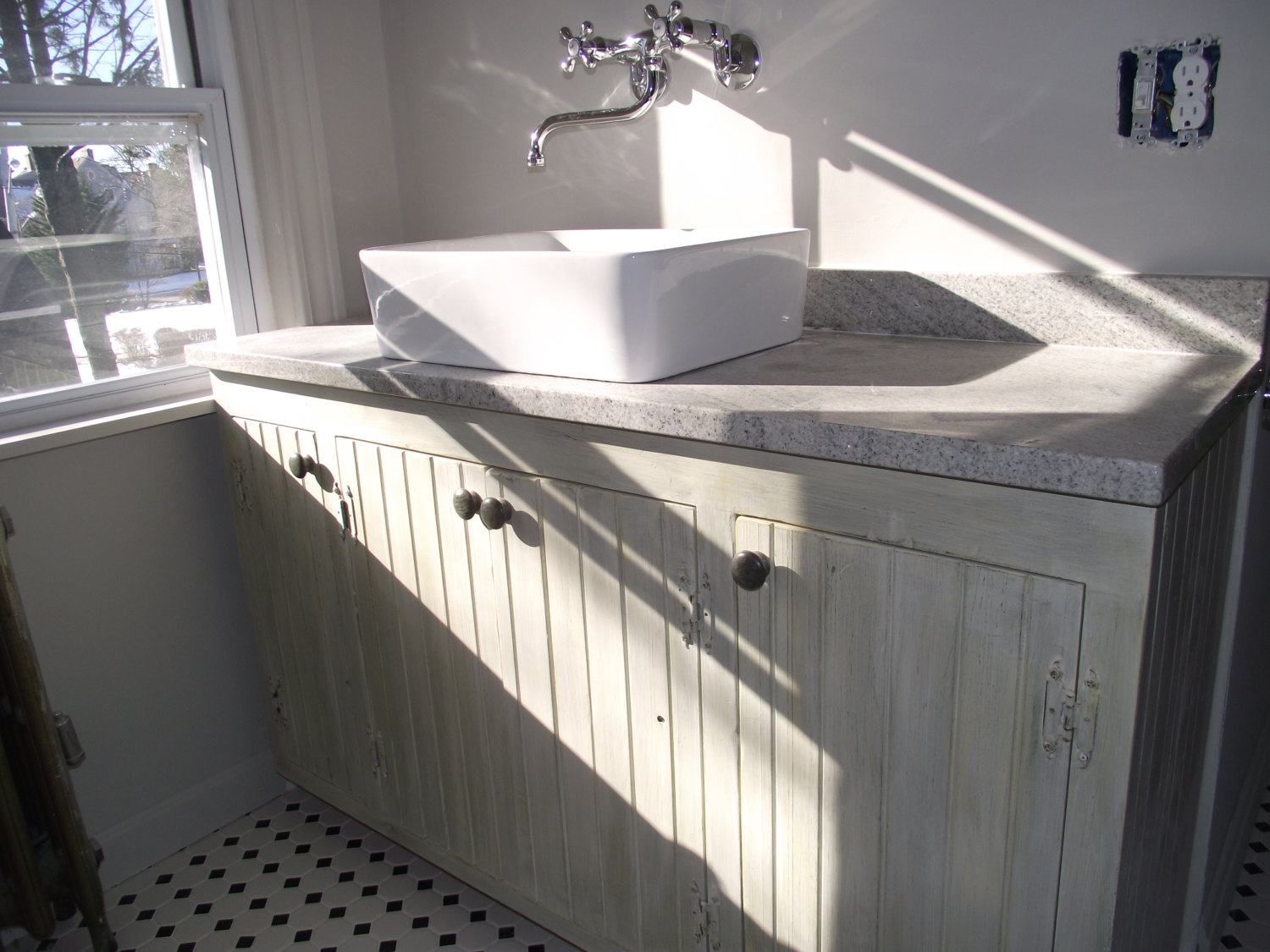 Bathroom Vanities, Custom Made, Raw or endless painted finishes