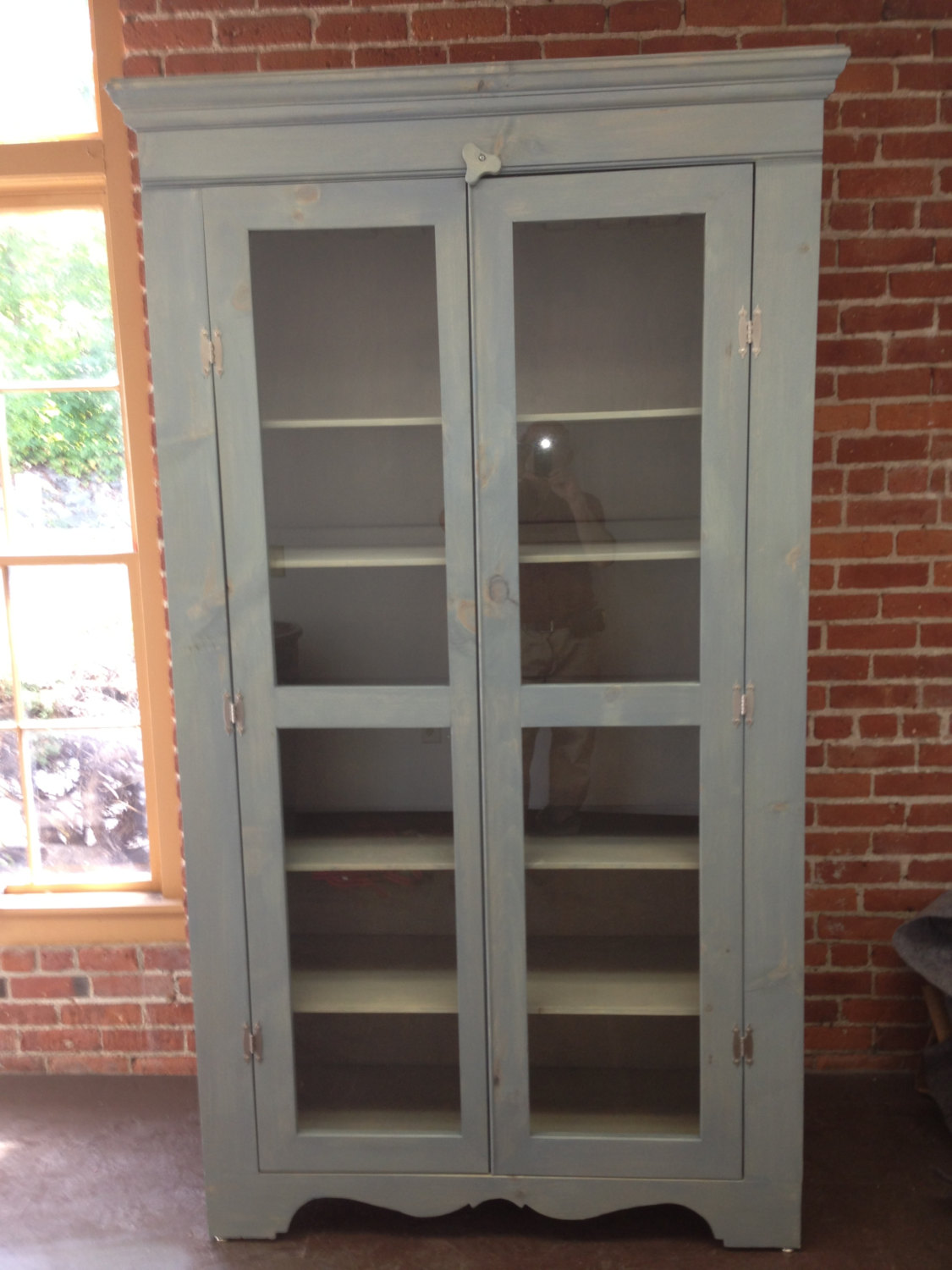 Display Cabinet Or Hutch Wine Rack And Ample Storage Custom Dimensions Local Pine