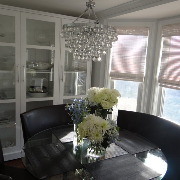 Display Cabinet Custom Built Dining Room Kitchen Hutch China Collectors Studio 4
