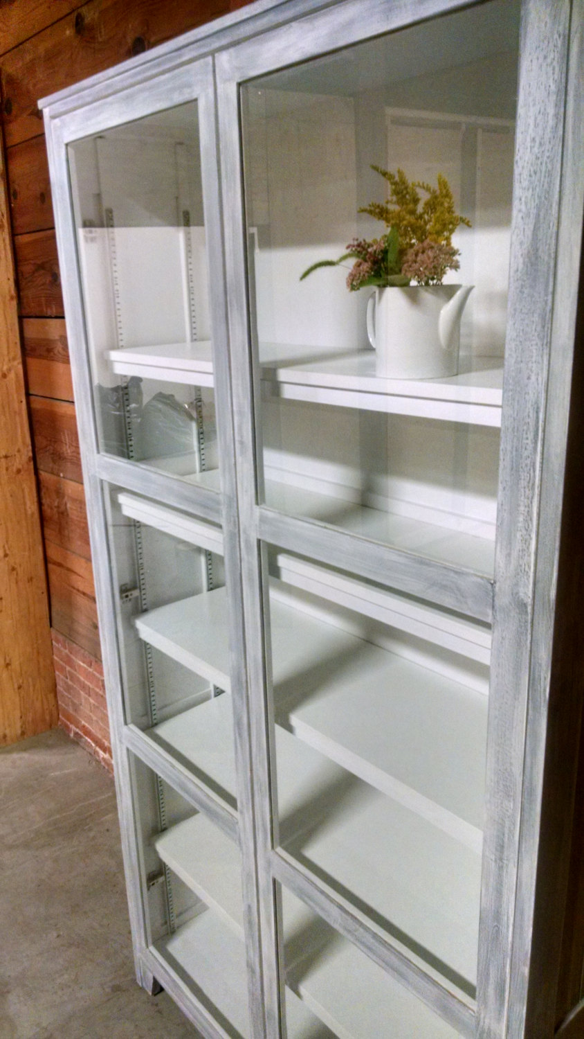 custom cabinet for kitchen storage or display hutch studio 4