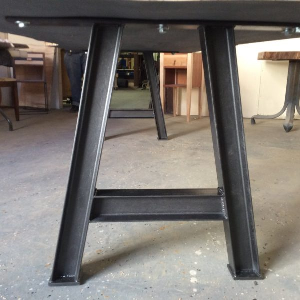 I Beam Table Base, Steel Table Legs, Industrial Table Base, Industrial Chic  U2013 Studio 4