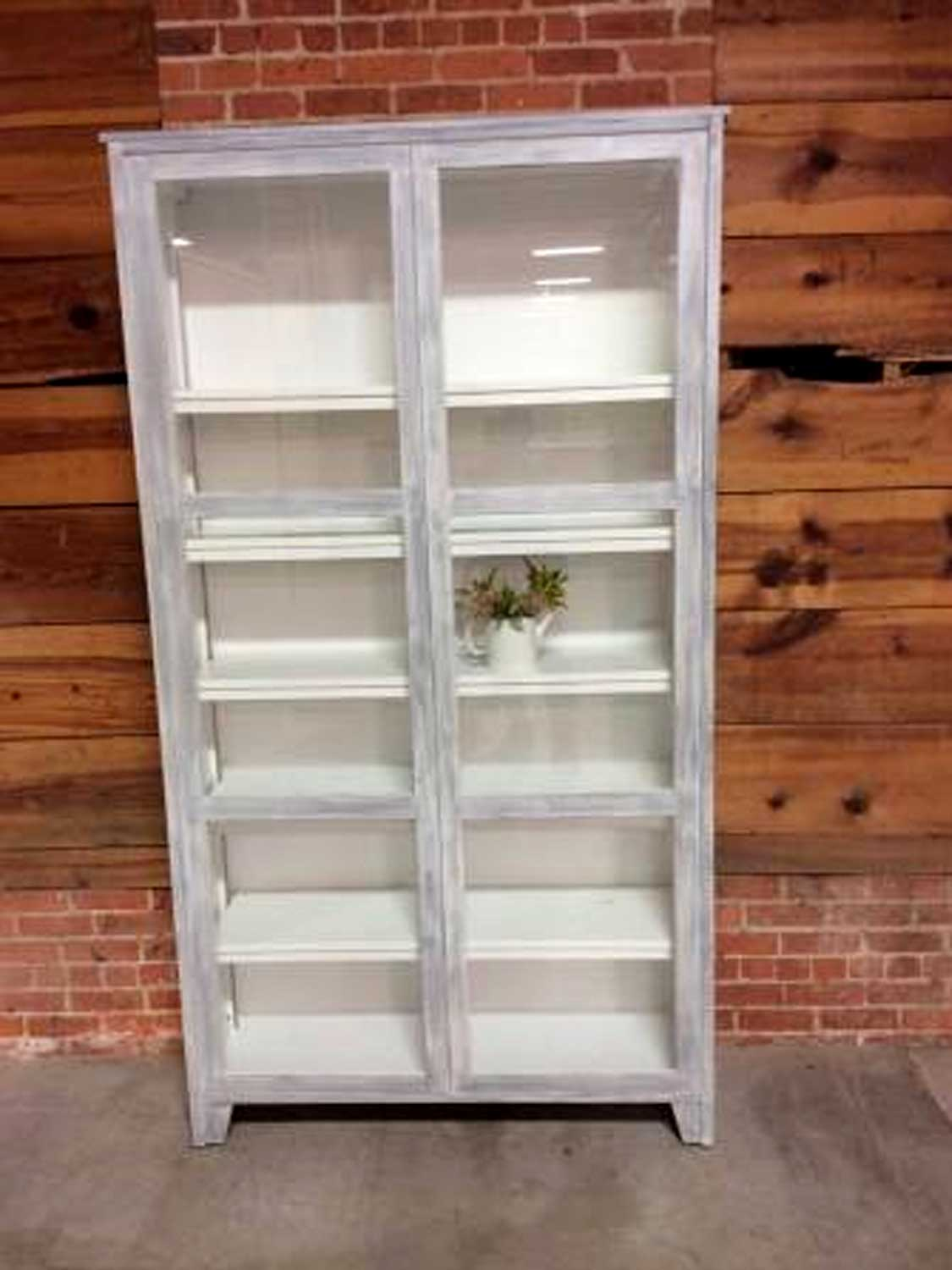 Custom Cabinet for Kitchen Storage or Display Hutch