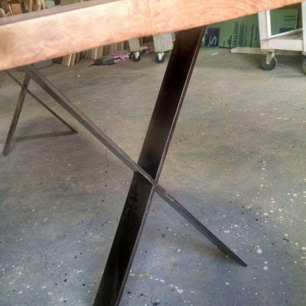 Centerpiece Dining Table, Local Cherry With No Stain, 8 Feet, Ready To Go U2013  Studio 4